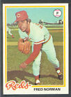 1978 Topps Fred Norman #273 Baseball Card