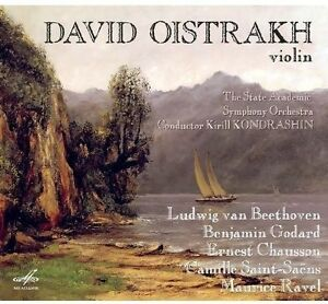FREE US SHIP. on ANY 3+ CDs! USED,MINT CD : David Oistrakh: Violin