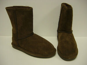 NEW-Womens-Sz-5-LUGZ-Zen-Lo-WEARLS-201-Chocolate-Brown-Boots-Shoes