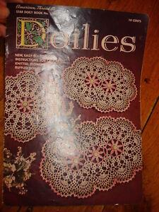 1956-Star-Crochet-Book-128-DOILIES-BOOK-Crochet-Knit-Flower-Ruffled