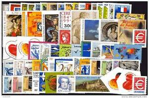 ANNEE-COMPLETE-NEUVE-XX-1999-TIMBRES-LUXE