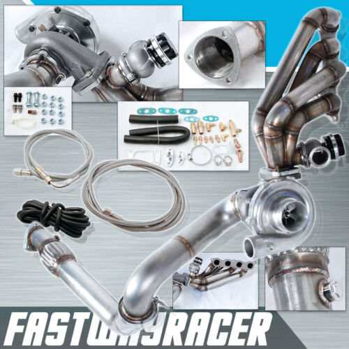 DC5 EP3 K20A K20Z K20 K-series T3 50AR Turbo Charger Kit Turbo Manifold 44MM FD4