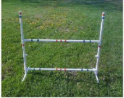 Dog Agility Equipment Training Bar Jump w/ EXTRA BAR & FREE U.S SHIPPING