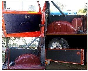 NEW-Suzuki-SAMURAI-ABS-Plastic-Door-Panels-Tailgate-SET