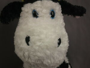 FIRST THE MAIN BLACK WHITE COW LANKYDOODLE FLOPPY LONGLEGS PLUSH STUFFED ANIMAL