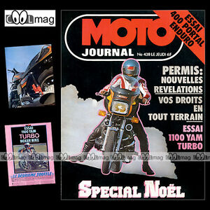 MOTO-JOURNAL-N-438-JACKY-VIMOND-PORTAL-420-YAMAHA-XS-1100-TURBO-BOXER-BIKES-1979