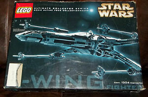 LEGO-STAR-WARS-7191-UCS-ULTIMATE-COLLECTOR-SERIES-CLASSIC-X-WING-FIGHTER-SNR