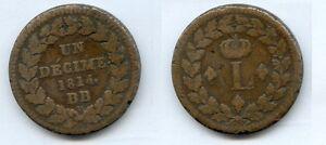 Gertbrolen-Blocus-de-Strasbourg-10-Centimes-1814-Louis-XVIII