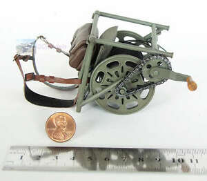 1-6-WW2-Figure-German-Infantry-Radio-Wire-Cable-Layer-Backpack-Cable-Layer
