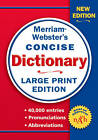 Merriam-Webster's Concise Dictionary by Merriam-Webster Inc. (Paperback, 2006)