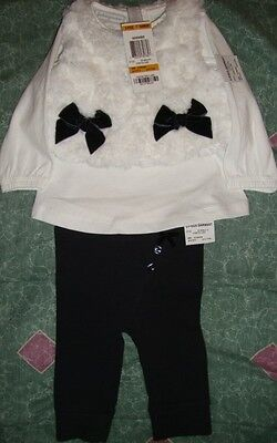 FIRST/IMPRESSIONS~girl's~3Pc/FAX/FUR/VEST/TOP/PANTS/SET! (0/3/MO) N/W/T! CUTE!