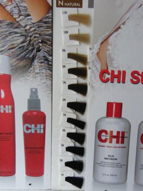 FAROUK CHI Ionic  Hair Color HAARFARBE -N  90gr  (100gr-9,43 euro)OHNE AMMONIAK