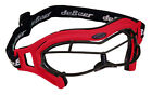 La Crosse DeBeer Womens Steel Lucent SI Eye Masks Goggles RED FRAME BLACK WIRE ONE SIZE FITS MOST - WOMEN - D41746LUCGSWREDBLK