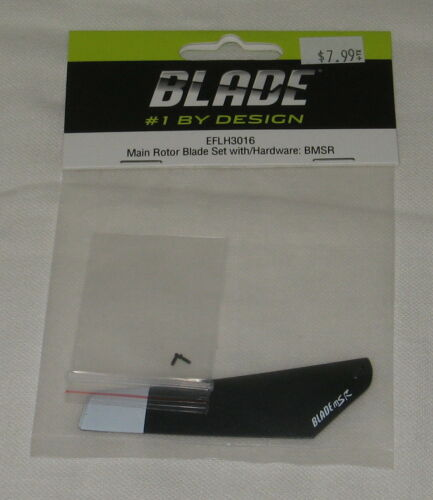 EFLH3016 Main Rotor Blade Set w/Hardware for E-Flite Blade mSR New in Package