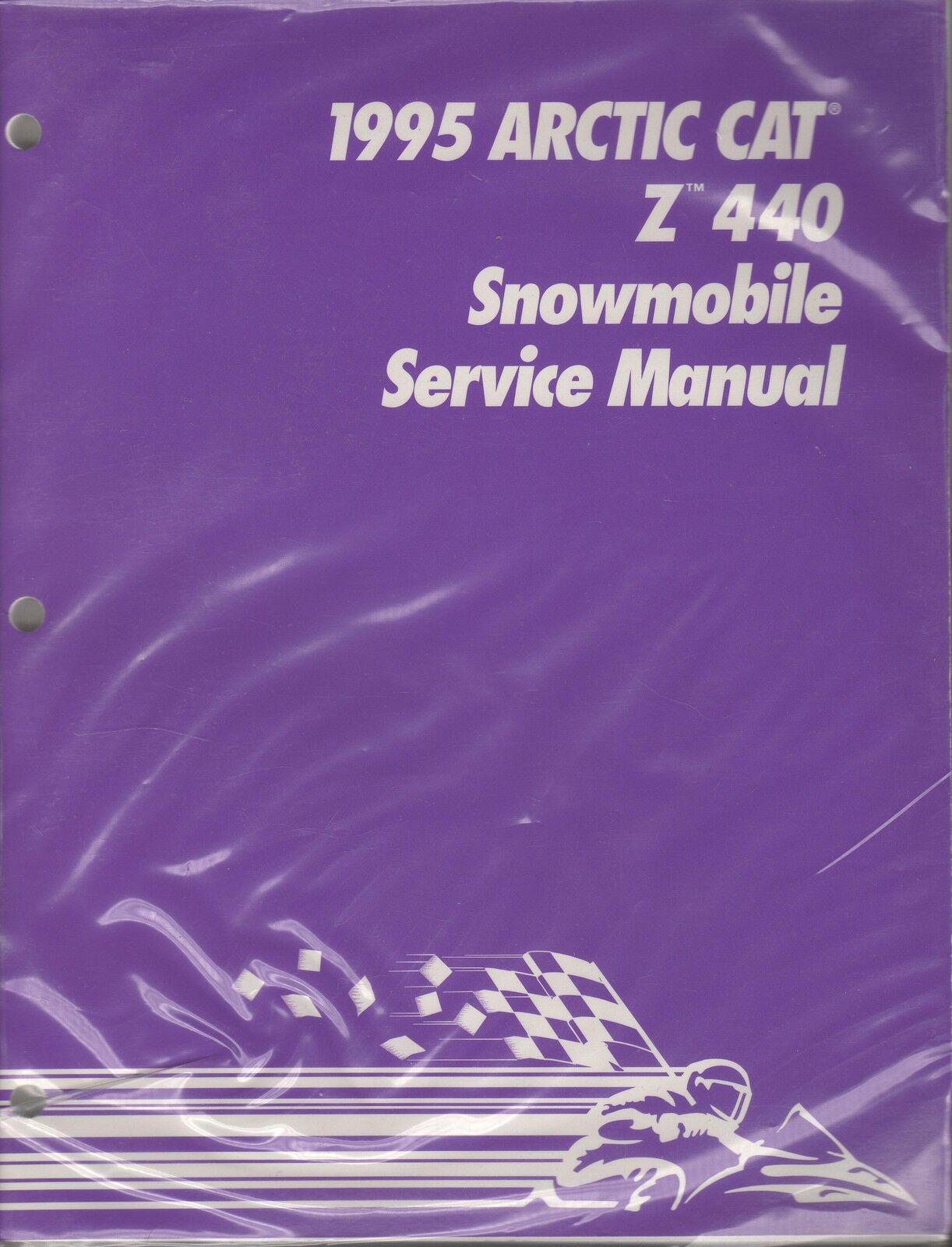 1995 ARCTIC CAT SNOWMOBILE Z 440  SERVICE MANUAL P N 2233-130