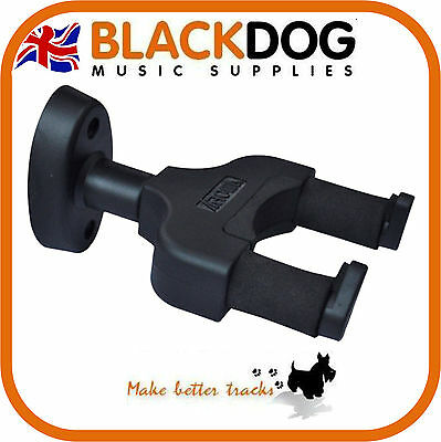 Guitar wall hanger mount suitable for electric, acoustic or bass strong nylon