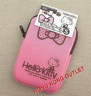 Hello Kitty iPhone 4 4S DC Soft Zipper Case Bag Pouch Pink  Sanrio L17