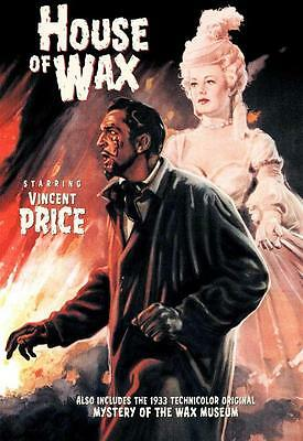 House of Wax (1953) 27 x 40 Movie Poster, Vincent Price, Style E