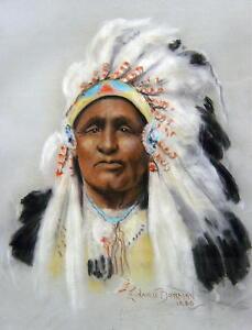 indianer h228uptling leonard borman 1894 northampton