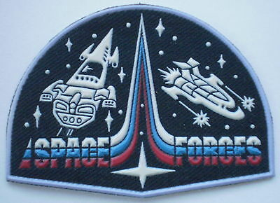 NEW Russian Uniform Sleeve Patch Military Cosmos Space Forces ~ RARE