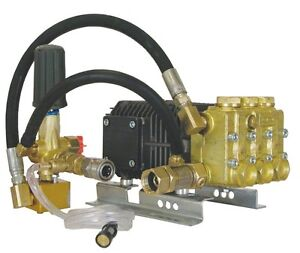 Pressure-Washer-Comet-HW3540S-Triplex-Pump-4000-PSI-Fits-11-13-HP-Motors