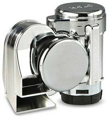 Wolo Chrome Bad Boy 1 piece motorcycle air horn 519 for Harley Davidson & others