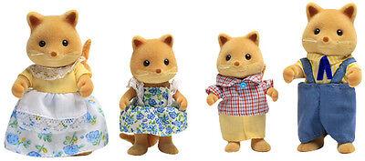 Slydale Honey Fox Family Set 4132 - Sylvanian Families