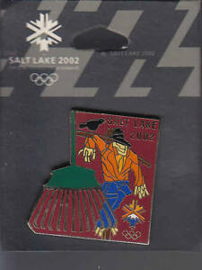 RARE-PINS-PIN-039-S-OLYMPIQUE-OLYMPIC-AGRICULTURE-JARDIN-EPOUVANTAIL-2002-AV