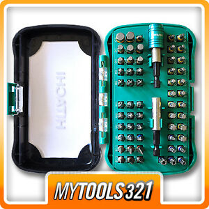 Hitachi-60-teiliges-Schrauberbit-Set-Box-Bit-Satz-Box-Sortiment