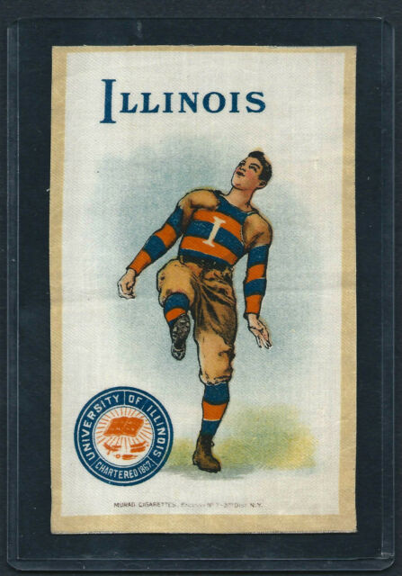 S22 SMALL MURAD TOBACCO SILK ILLINOIS FOOTBALL