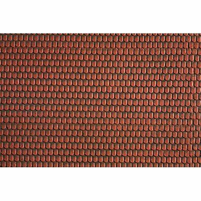 Noch 3d 57328 Scala H0 Roofing Tile Red 30x12 Nuovo Sigillato