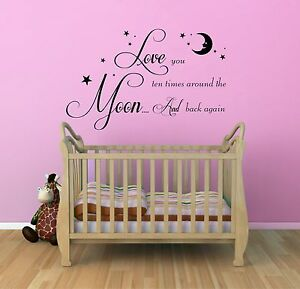 We-Love-You-to-The-Moon-and-Back-Vinyl-Wall-Art-Sticker-Nursery-Bedroom