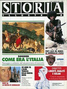 034-STORIA-ILLUSTRATA-N-357-AGO-1987-034-DOSSIER-COME-ERA-L-039-ITALIA