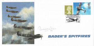 60th-Anniv-1st-Spitfire-enter-Sqn-service-Signed-D-Sheen-72-amp-212-Sqn-s-Battle-o