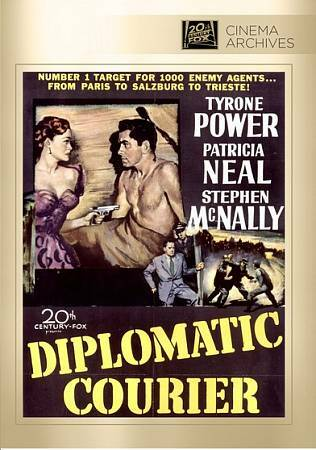 Diplomatic Courier DVD - Patricia Neal, Stephen McNally Tyrone Power
