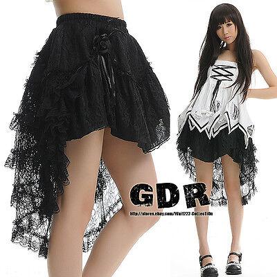 PUNK DOLLY gothic KERA Lolita NANA LAYER 61239 SKIRT M BLACK
