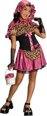 Bratty Red Riding Hood Bratz Fairy Tale Pink Dress Up Halloween Child Costume