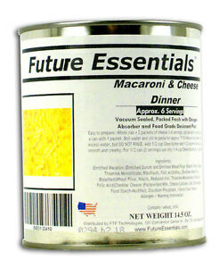 can future essentials canned macaroni cheese 6 servings. Black Bedroom Furniture Sets. Home Design Ideas