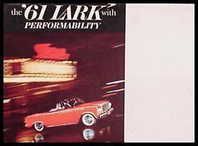 1961-Studebaker-Packard-Lark-Brochure-Nr-MINT-ORIGINAL