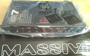 MASSIVE-AUDIO-EQ7-STEREO-7-BAND-GRAPHIC-EQUALIZER-DUAL-LIGHTS-NEW
