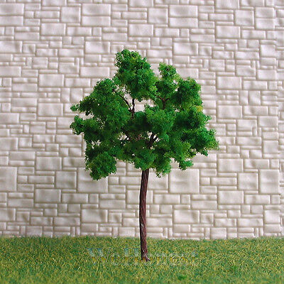 120 pcs Green Model Trees #G6030 for HO N scale layout