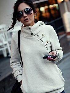 Womens-Fashion-Pullover-Hoodie-Jacket-Short-Zip-Button-Jumper-Sweats-Top-Coat