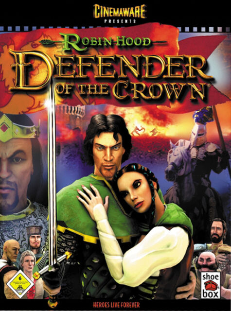 Robin Hood: Defender Of The Crown (PC, 2003, DVD-Box)