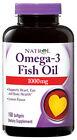 Natrol Omega-3 Fish Oil, Lemon Flavor