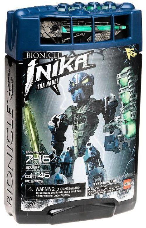 Lego Bionicle Toa Inika Toa Hahli (8728)