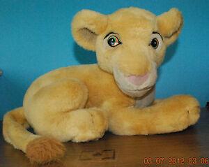 "Disney Lion King Baby Simba 12"" Stuffed Plush"
