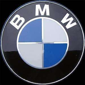bmw emblem motorhaube e36 e38 e39 e30 e46 e34 82mm neu. Black Bedroom Furniture Sets. Home Design Ideas