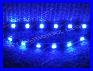 BLUE-5050-SMD-LED-STRIPS-PAIR-OF-6-INCH-STRIPS-FITS-ALL-MERCEDES-PORCHE-LOTUS