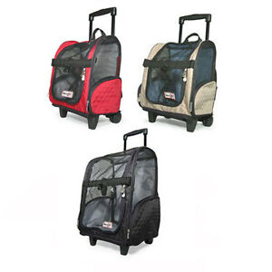 snoozer pet roll around backpack car seat airline approved travel carrier ebay. Black Bedroom Furniture Sets. Home Design Ideas