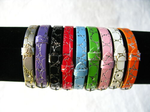 DIY Name Bracelet Wristband Can through Slide letters or charms